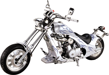 mini chopper tiger 50cc moto pas cher moteur type dax licence honda. Black Bedroom Furniture Sets. Home Design Ideas
