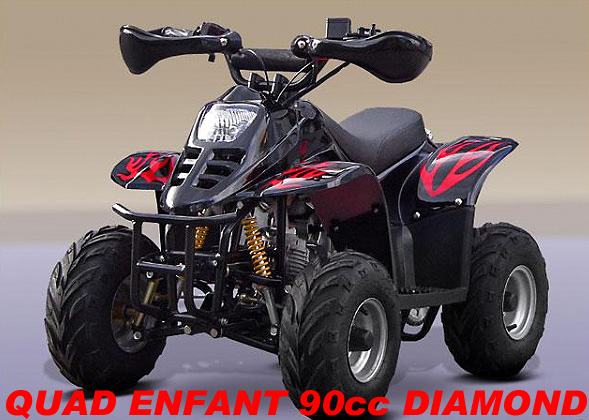 quad enfant pas cher  quad 90cc atv diamond quad diamon