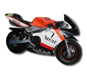 pocket bike supermotard mini motard motar 125. Black Bedroom Furniture Sets. Home Design Ideas