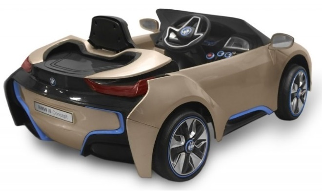 bmw i8 mini voiture electrique bebe pas cher voiture enfant avec mp3 tele. Black Bedroom Furniture Sets. Home Design Ideas