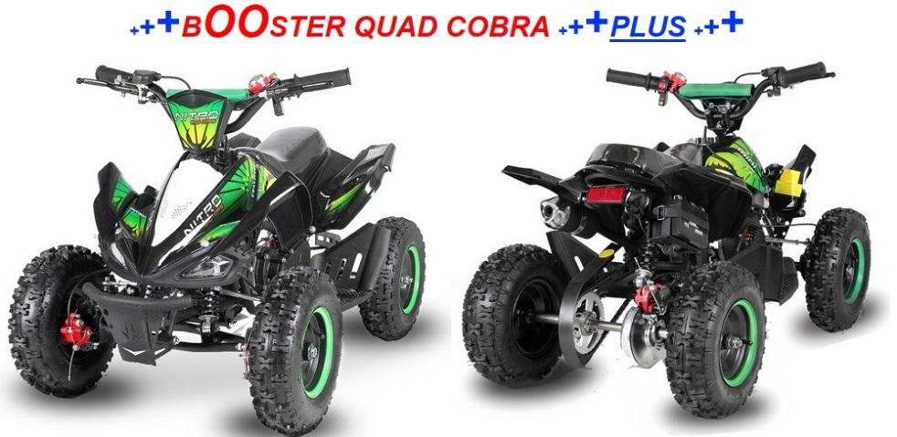 booster quad cobra plus pas cher mini quad. Black Bedroom Furniture Sets. Home Design Ideas