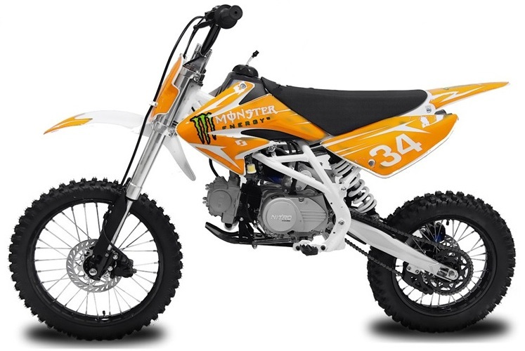 dirt pit bike 125cc monster energy tornado racing big. Black Bedroom Furniture Sets. Home Design Ideas