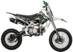 dirt bike motocross 140cc grandes roues monster pas chere