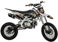 dirt bike 140cc rockstar pas cher