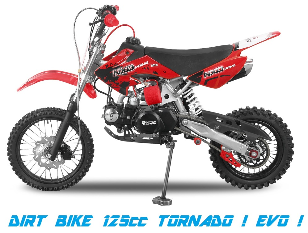 dirt bike 125cc tornado evo pas cher motocross. Black Bedroom Furniture Sets. Home Design Ideas