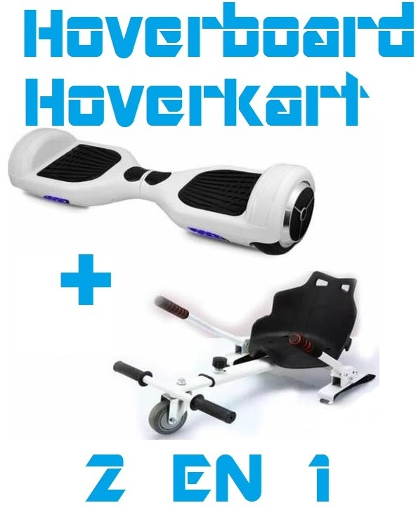 hoverboard hoverkart pas cher 2 en 1 gyropode. Black Bedroom Furniture Sets. Home Design Ideas