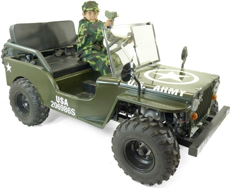 jeep us army willys neo militaire a vendre jeep enfant. Black Bedroom Furniture Sets. Home Design Ideas