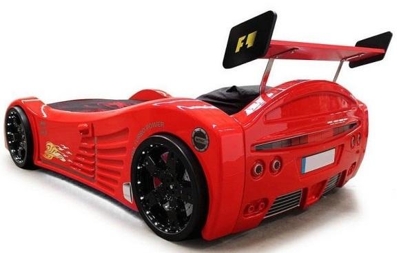lit enfant voiture racing f1 lit voiture meubles chambre pour garcon pas cher. Black Bedroom Furniture Sets. Home Design Ideas