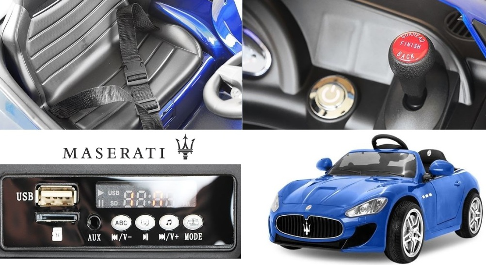 maserati voiture lectrique pour enfant prix pas cher. Black Bedroom Furniture Sets. Home Design Ideas
