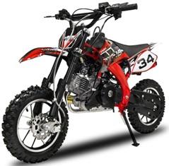 moto cross easy top 50cc new moteur 4 temps vitesses automatiques d marrage lectrique. Black Bedroom Furniture Sets. Home Design Ideas