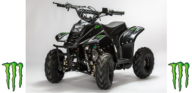 quad monster bigfoot 110cm3 diamond