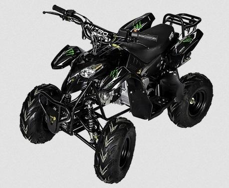 quad 110cc monster neo pas cher quad enfant avec pneus 6 pouces moteur 4 temps nitro essence. Black Bedroom Furniture Sets. Home Design Ideas