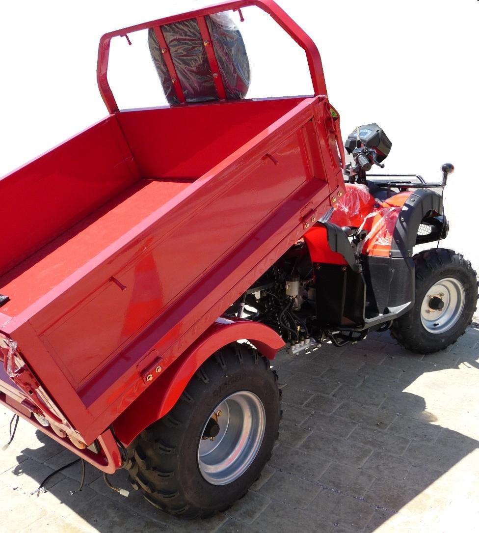 quad 200cc pick up neo utilitaire agricole quad avec benne basculante homologu route pas. Black Bedroom Furniture Sets. Home Design Ideas