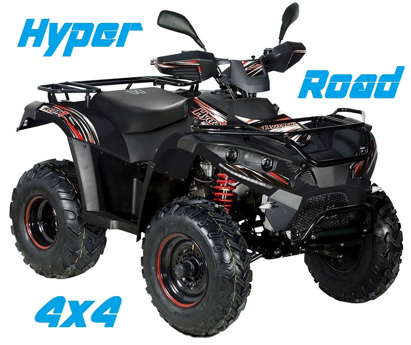 quad 4x4 300cc hyper road homologu route pas cher tout terrain utilitaire agricole. Black Bedroom Furniture Sets. Home Design Ideas