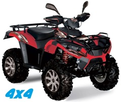 quad 4x4 homologue route hyper road
