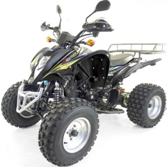 quad shineray terminator 250cc stxe plus
