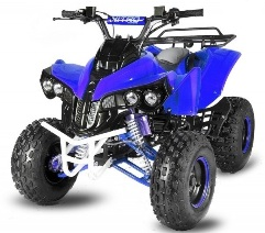 quad xxl 125cc turbo warrior guerrier pas cher