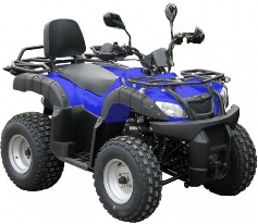 quad puma 200cc homologue route