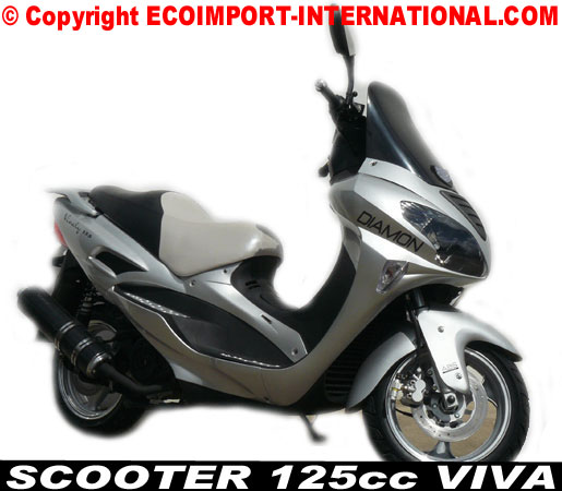 acheter un scooter 125cc pas cher scooter viva diamond scooters diamon 125. Black Bedroom Furniture Sets. Home Design Ideas