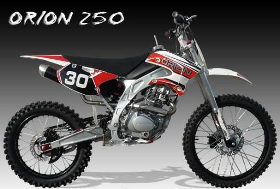 Dirt bike 250cc Orion