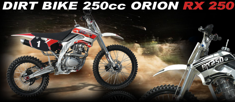 Dirt bike orion 250cc rx 250