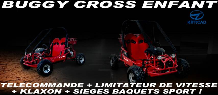 BUGGY CROSS ENFANT 90cc