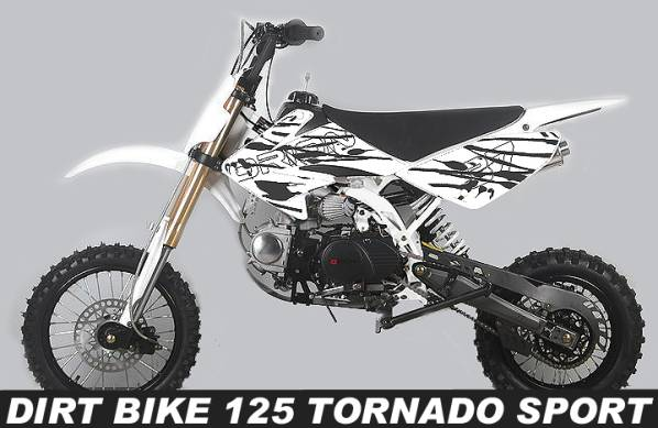 dirt bike 125 tornado sport pas cher dirt 125cc pit bike orion ttr tornado sport. Black Bedroom Furniture Sets. Home Design Ideas