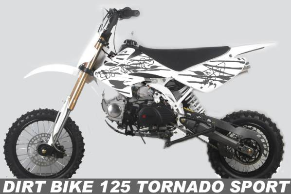dirt bike 125 tornado sport pas cher dirt 125cc pit bike. Black Bedroom Furniture Sets. Home Design Ideas