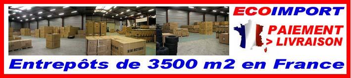 Ecoimport 3500m2d'entrepots en France !