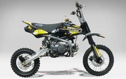 pit bike 125cc rider moto cross pas cher. Black Bedroom Furniture Sets. Home Design Ideas