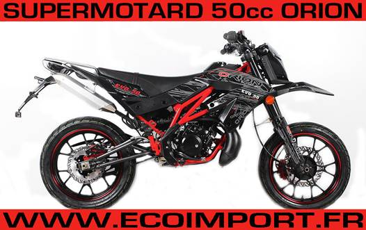 supermotard 50cc orion homologue route pas chere moto neuf a vendre au prix d 39 occasion. Black Bedroom Furniture Sets. Home Design Ideas