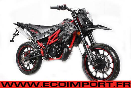 supermotard 50cc orion homologue route pas chere moto. Black Bedroom Furniture Sets. Home Design Ideas