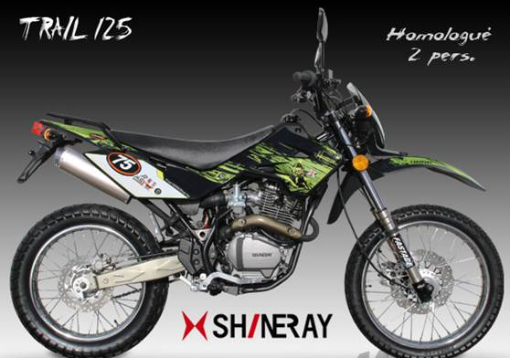 trial 125 shineray moto tiral 125cc 4 temps   moto trial