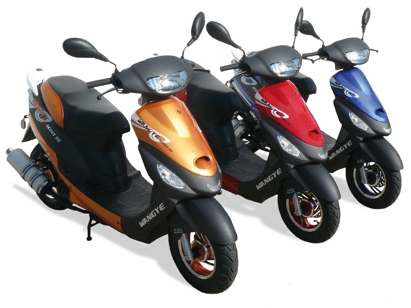 scooter 50cc city fun   scooter pas cher   50 cm3 wangye
