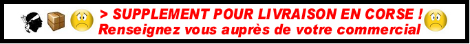 POUR LA CORSE =SUPPLEMENT DE FRAIS DE LIVRAISON