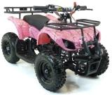 min pocket quad pour fille rose spider