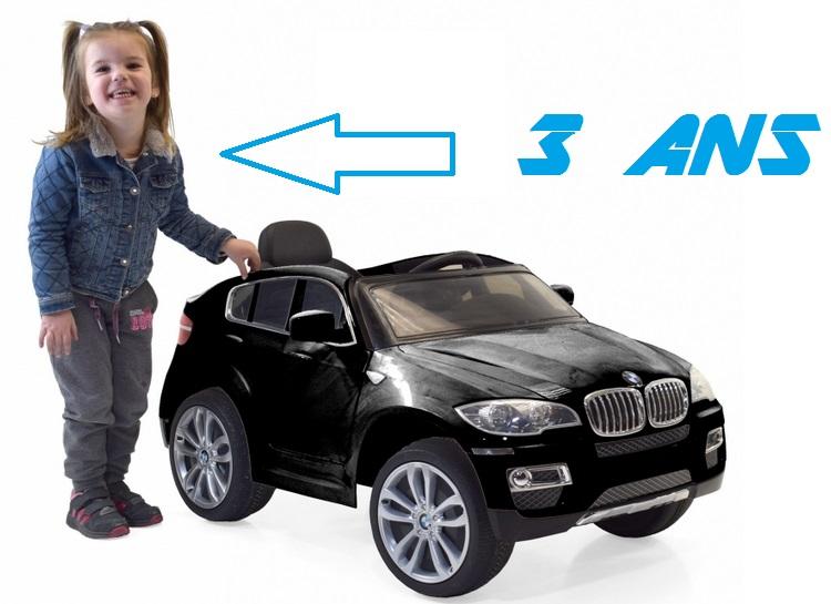 bmw x6 voiture electrique pour enfant idee cadeau anniversaire. Black Bedroom Furniture Sets. Home Design Ideas