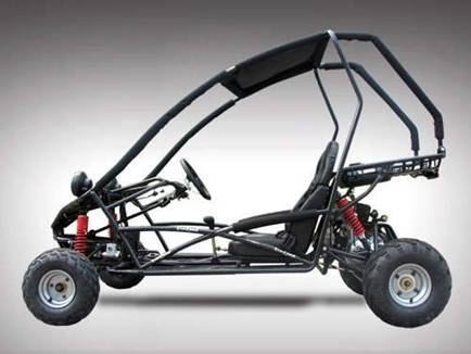 buggy ado tornado 110cc kinroad pas cher. Black Bedroom Furniture Sets. Home Design Ideas