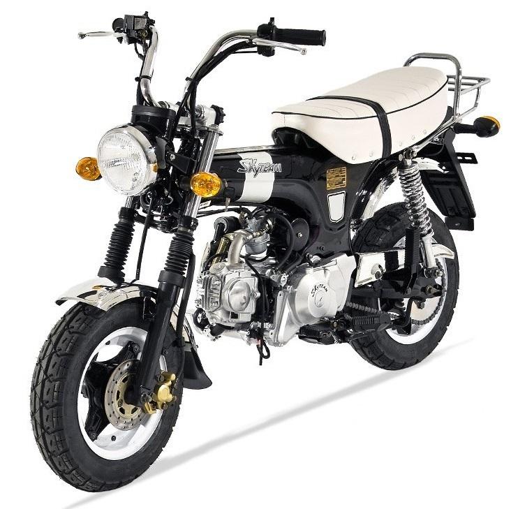 dax skyteam 125cc pas cher moto homologuee route. Black Bedroom Furniture Sets. Home Design Ideas