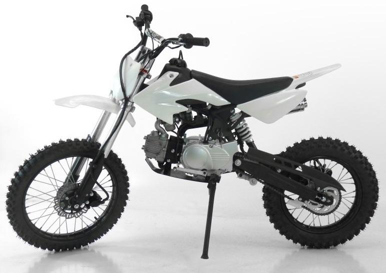 dirt bike 125cc spectre snow     motocross pas chere