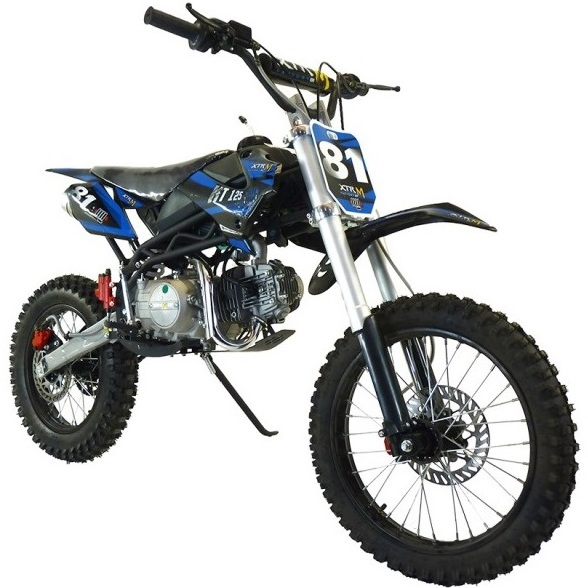 moto 125cc pas cher moto cross dirt bike 125cc blue livraison incluse le pocket cross 125cc. Black Bedroom Furniture Sets. Home Design Ideas