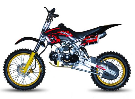 dirt pit bike 125cc tornado big pas chere moteur. Black Bedroom Furniture Sets. Home Design Ideas