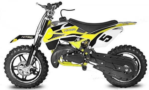 moto cross 50 neo pas chere minidirt cross bull motocross 50cc enfant grandes roues. Black Bedroom Furniture Sets. Home Design Ideas
