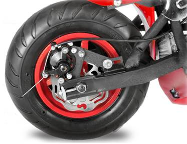 pocket bike mini moto freins a disque