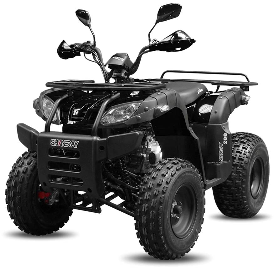 quad shineray 200cc booster new homologue