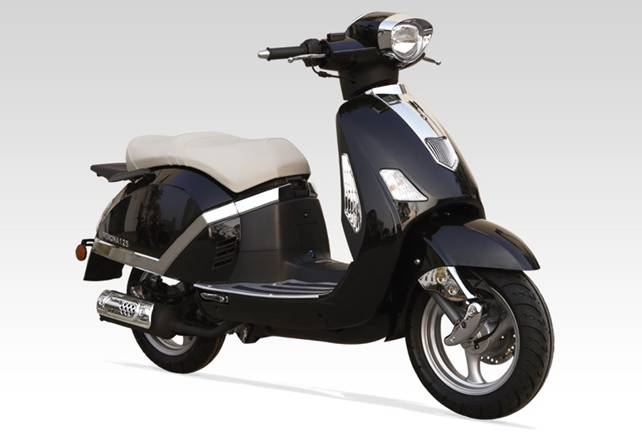 Scooter Electrique 125 electric 39 city 2 ventys et un