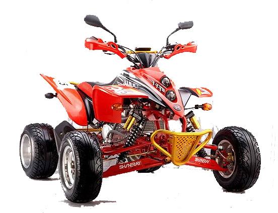 QUAD HAUT DE GAMME MARQUE SHINERAY SPORT HOMOLOGUE 250cc
