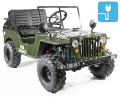 jeep usa army willys electrique pas chere