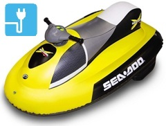 jet ski gonflable pas cher