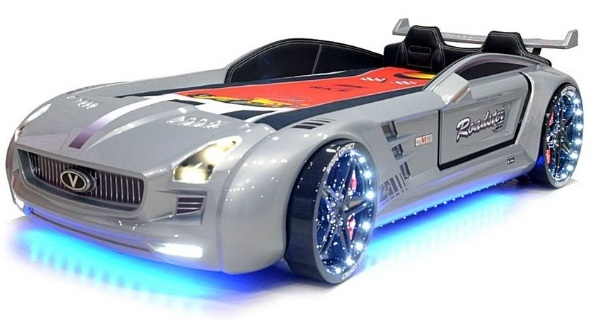 lit-voiture-enfant-ado-supersport-led-silver
